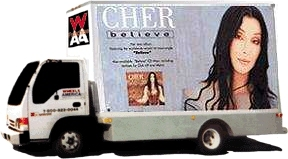 Warner Brothers promotion for cher